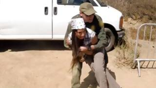 Kinky soldier nicely hitting amazing young GF