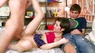 Mouth-watering knockout carry out in yea threesome with 2 raunchy sirs