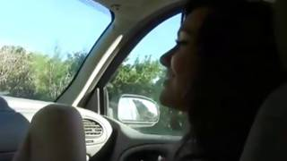 Big-tittied hot princess sweetly moaning being doomed in car